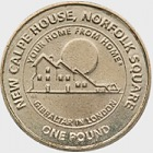 £1 Calpe House Coin