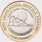 £2 Calpe House Coin