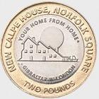10 x £2 Calpe House münze