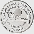 10p Calpe House Coin