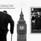 Winston Churchill 50 ° anniversario
