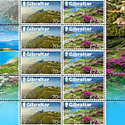 Gibraltar - Romania Joint Issue - Gibraltar Sheetlet Mint