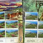Gibraltar - Romania Joint Issue - Romania Sheetlet