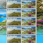 Gibraltar - Romania Joint Issue - Gibraltar Sheetlet CTO