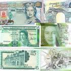 Oferta especial: Paquete de billetes de 5 £ de Gibraltar con un 20% de descuento. AHORRAS 7,50 €