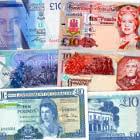 Oferta especial: Paquete de billetes de £ 10 de Gibraltar con un 20% de descuento. AHORRAS £ 12
