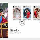 The Duke & Duchess of Cambridge 10th Wedding Anniversary - FDC Set