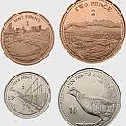 Monedas De Bajo Valor De Gibraltar 2020