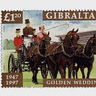 HM QE II Golden Wedding anniversary