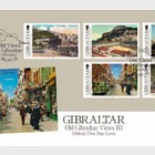 Old Gibraltar Views III- (FDC Set)