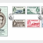 60 Years of 1953 QEII Definitive- (FDC Low Value)