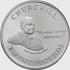 Churchill 'We Shall Never Surrender