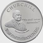 Churchill - wir werden uns nie ergeben