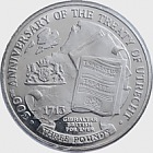 Treaty of Utrecht £3 coin