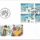 2017 Additional Value-Kofoed´s School Nuuk - (FDC Block of 4)
