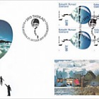 Environment in Greenland - (FDC Block of 4 - 1/2)