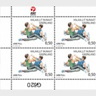 Sports in Greenland III - (1/3 Sheetlet of 10 Stamps)