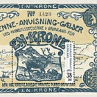 Old Greenlandic Banknotes II - 1/2 M/S