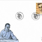 Greenlandic Music II - 1/3 - FDC Single Stamp
