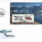 Fish in Greenland II - FDC M/S