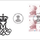 Queen Margrethe – Definitive Series - FDC Block of 4
