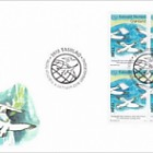 50th World Post Day - FDC Block of 4