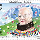 H.M. Queen of Denmark's 80th Birthday - Set Mint