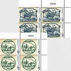 Old Greenlandic Banknotes II - Block of 4 Upper Marginal
