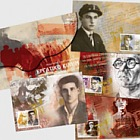 Leading figures of the modern Greek labor movement (Set of 4)