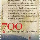700 ans de la statue de Split