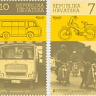 Europa 2013 - des véhicules postaux