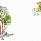 Sello para niños: Protejamos nuestros bosques