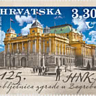 125th Anniversary Of The Croatian National Theatre Building In Zagreb