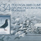 Fauna of Hungary IX - 34th Racing Pigeon Olympiad