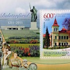 84th Stamp Day- Balatonfured is 800 years old