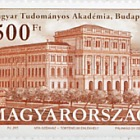 The headquarters of the Hungarian Academy of Sciences is 150 years old