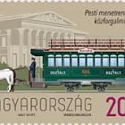 Primo Tram a Cavallo in Programma a Pest è Entrato in Servizio 150 Anni Fa