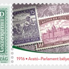 Harvester and Parliament Stamp Series is 100 Years Old