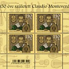Claudio Monteverdi was born 450 years ago