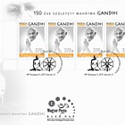 Mahatma Gandhi was Born 150 Years Ago - FDC M/S