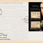 Mihaly Gervay was Born 200 Years Ago - The Worlds First Offical Postcard was issued 150 Years Ago