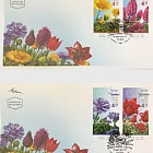 Spring Flowers - (FDC Set)
