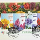 Spring Flowers - (FDC M/S)