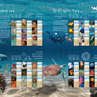 Marine Life Special Print Sheet