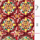 Festivals 2020 - Modern Jewish Art Mandalas - Kingship - Tab Block