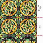 Festivals 2020 - Modern Jewish Art Mandalas - Shofars - Tab Block