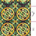 Festivals 2020 - Modern Jewish Art Mandalas - Shofars - Plate Block
