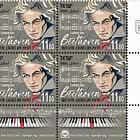 Ludwig van Beethoven - 250th Birthday - Tab Block