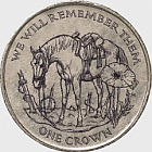 World War I Horse No Man's Land Crown