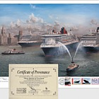 Cunard Line's 175 Years: Three Queens meeting